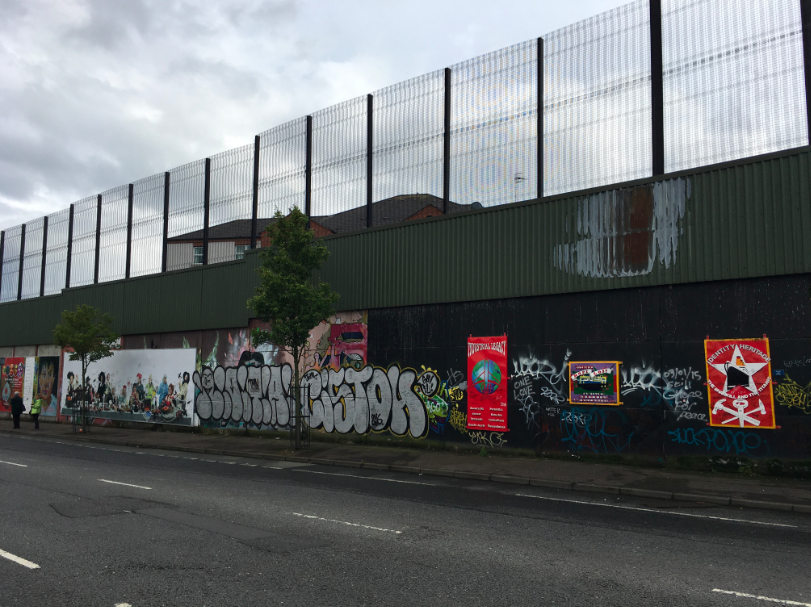 Peace Wall Belfast
